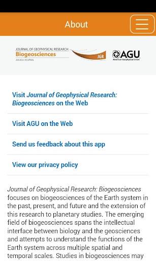 JGR: Biogeosciences