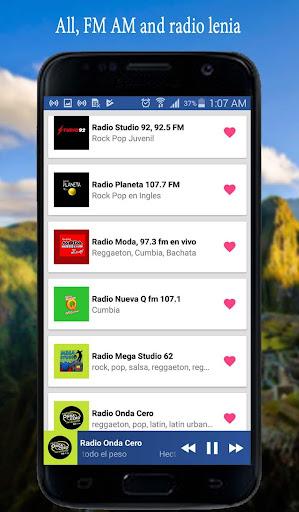 Radios del Peru - Peruvian Radio screenshots 1