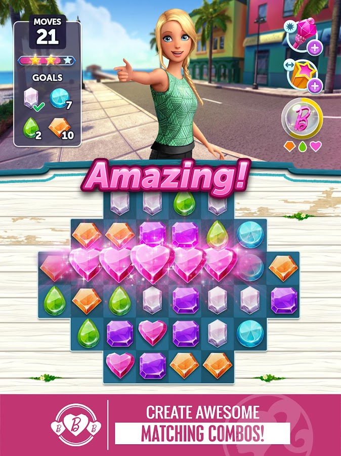 Barbie™ Sparkle Blast™- screenshot