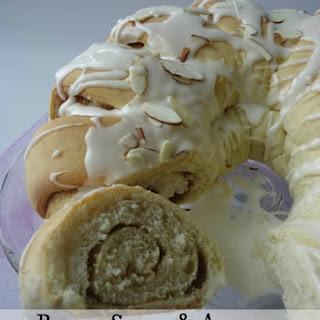Brown Sugar And Almond Coffee Cake
