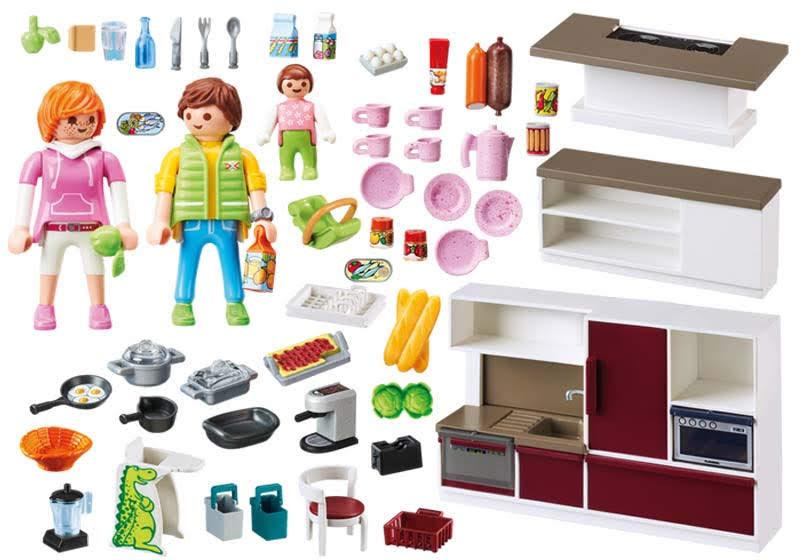 Contenido real de Playmobil® 9269 Cocina