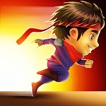 Ninja Kid Run Free - Fun Games Icon