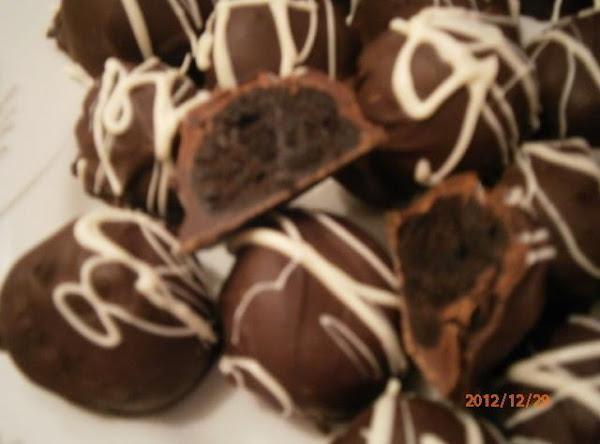 Pepper Mint Oreo Cookies Truffles Recipe