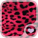 Pink leopard Print Wallpaper icon