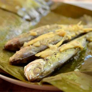 Banana Wrapped Salay-Salay Fish