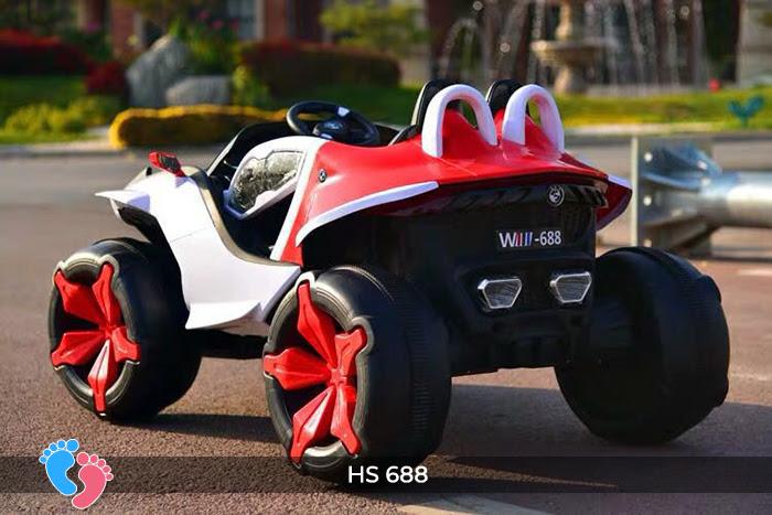 Xe ô tô điện địa hình cho bé hs-688 16