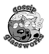 Photo: Gossip Glassworks logo