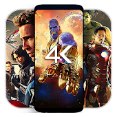 Superhero Wallpapers : 4K Live Wallpaper & Bg Android APK Download Free By RMD  Production