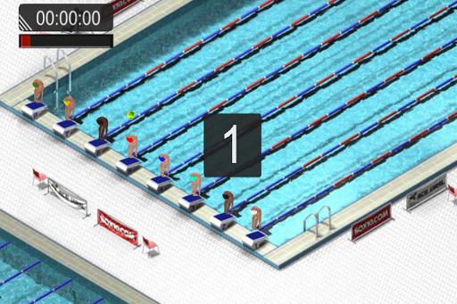 Swimming Race 2016 screenshot 2