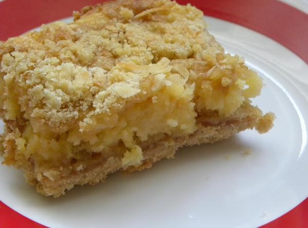 Pineapple Crumble Bars Recipe