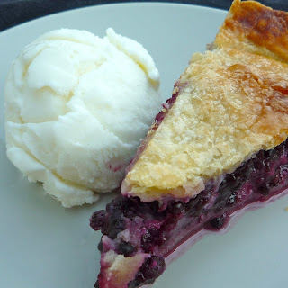 Blackberry Custard Pie