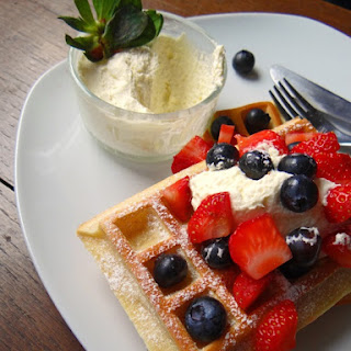 Fluffy Breakfast Waffles