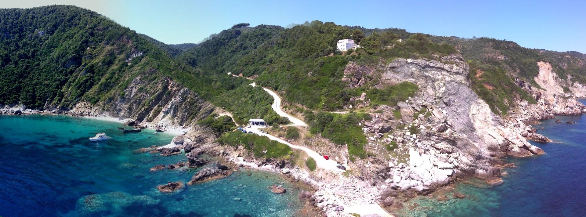 spiagge isola skopelos