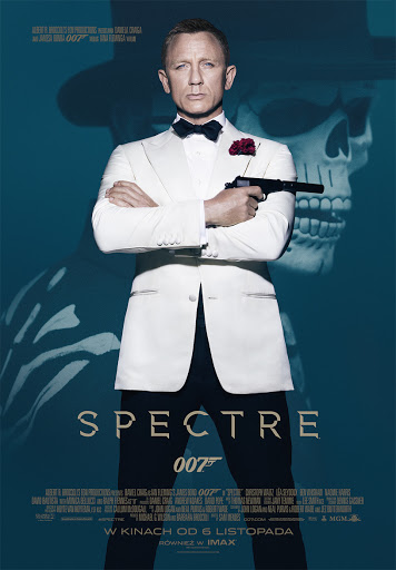 Polski plakat filmu 'Spectre'