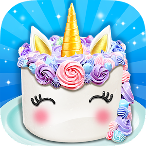 Unicorn Food - Sweet Rainbow Cake Desserts Bakery for PC
