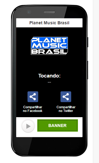 Planet Music Brasil- screenshot