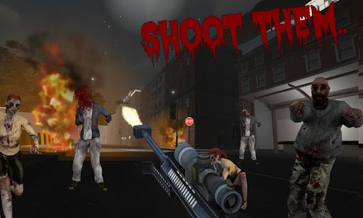Zombie Sniper Shooting: 3D  screenshots 2