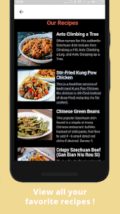 Tasty Chinese Food - Szechuan Peppers Recipes- screenshot thumbnail