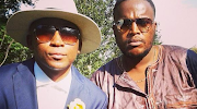 Khuli Chana (L) was left shattered by the death of his friend, HHP (R).