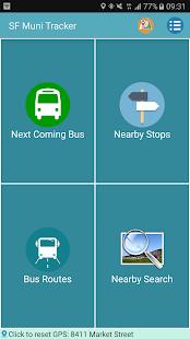 San Francisco Muni Metro Tracker - náhled