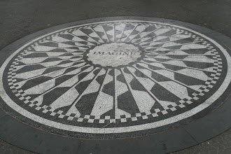 Photo: John Lennon tribute in Central Park