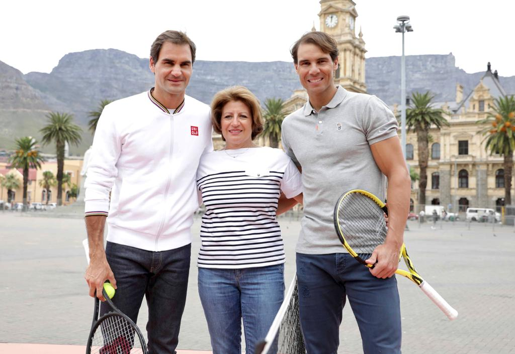 Watching Roger In Cape Town Is A Dream Come True Says Federer S Mom