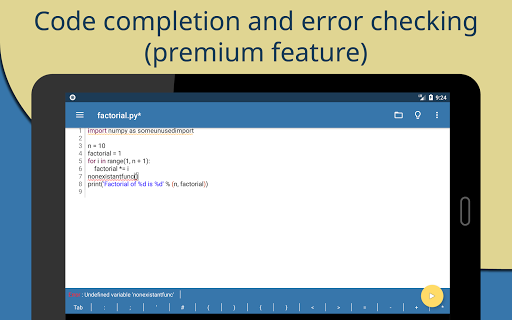 Pydroid 3 - Educational IDE for Python 3  screenshots 13