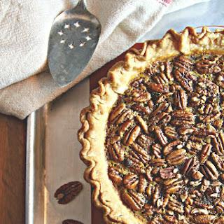 Bourbon Ginger Pecan Pie