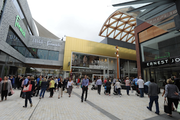 Places to shop in Bracknell