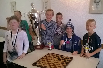 Photo: Damclub IJmuiden Jeugdtoernooi/Noord-Holland Jeugdcup. Zondag 19 oktober 2014. Winnaars