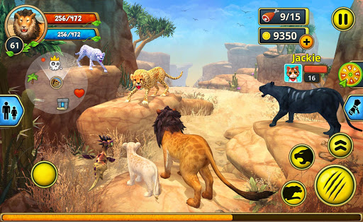 Lion Family Sim Online - Animal Simulator 4.0 screenshots 14