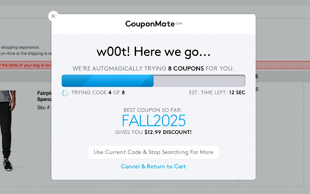 couponmate coupon codes deals chrome web store