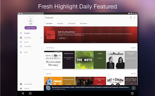 CastBox - Free Top Podcasts- screenshot thumbnail