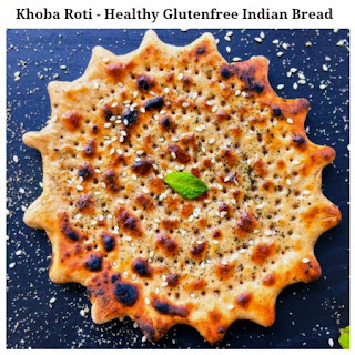 Garlicky Khoba Roti – Healthy Glutenfree Indian Bread.