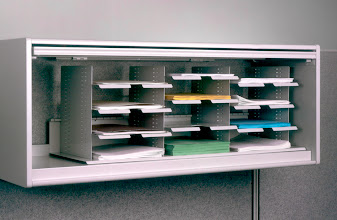 Photo: KB3312D in overhead cabinet