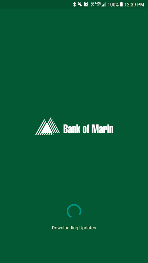 Bank of Marin Personal Mobile- screenshot