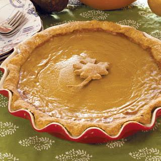 Homemade Pumpkin Pie