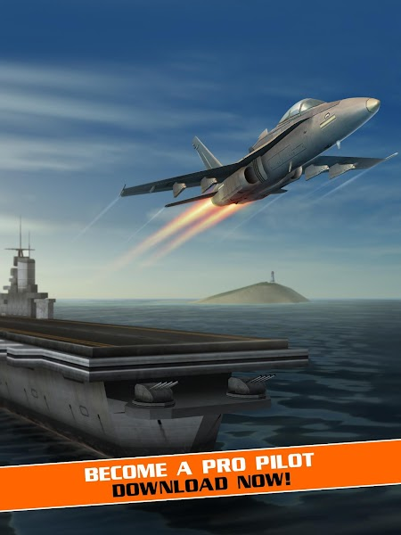Flight Pilot Simulator 3D - Screenshot