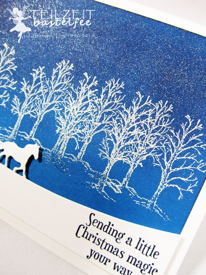 Stampin' Up! - Inkspire_me, Christmas Special, Sleigh Ride, Winter Forest,