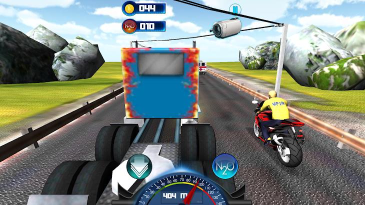 Upin Balapan Motor Ipin Game- image