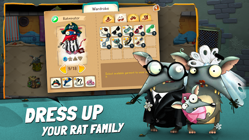 The Rats: Feed, Train and Dress Up Your Rat Family filehippodl screenshot 5