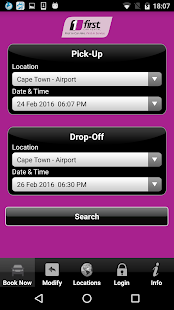 First Car Rental Booking App- screenshot thumbnail