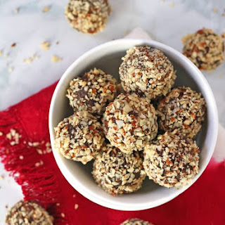 Chocolate Cherry Protein Balls.