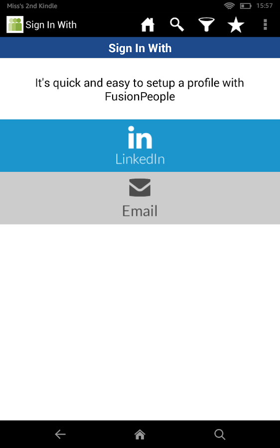 Fusion People- screenshot