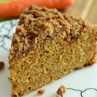 Carrot Cake Coffee Cake with Cinnamon Streusel Recipe