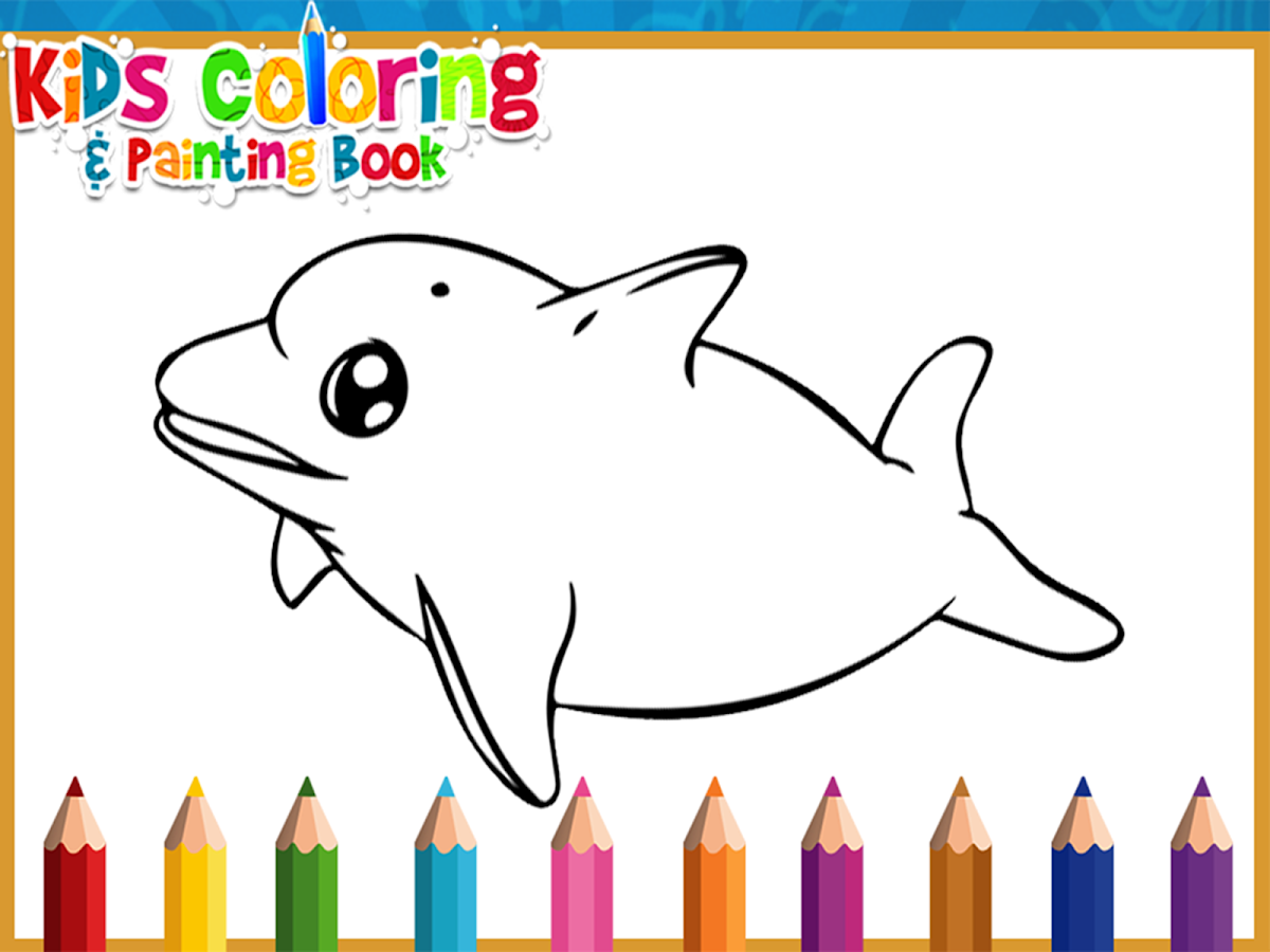 kids coloring painting book screenshot - Kids Painting Book