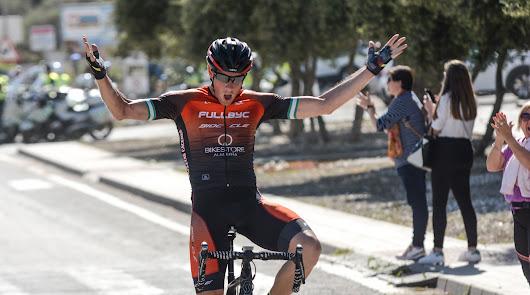 Francisco Javier López, primer líder de La Vuelta