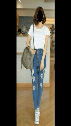 Girl Jeans Photo Editorのおすすめ画像2