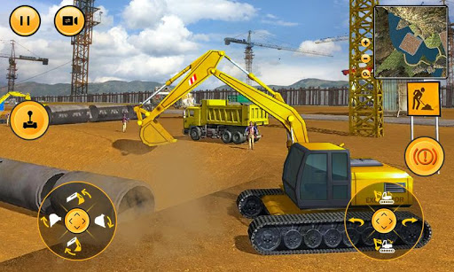 Heavy Excavator Construction Sim 2018 1.13 screenshots 1