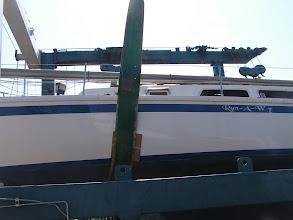 Photo: Положение передней стропы/ Forward travellift strap position